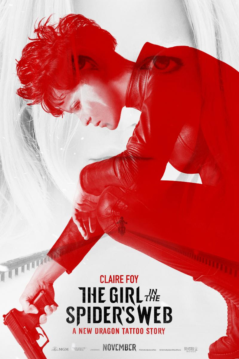 Poster for The Girl in the Spider's Web