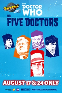 Poster of RiffTrax Live: Doctor Who - The Five Doctors