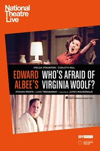 National Theatre Live: Who's Afraid of Virginia Woolf? Poster