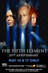 The Fifth Element 20th Anniversary Poster