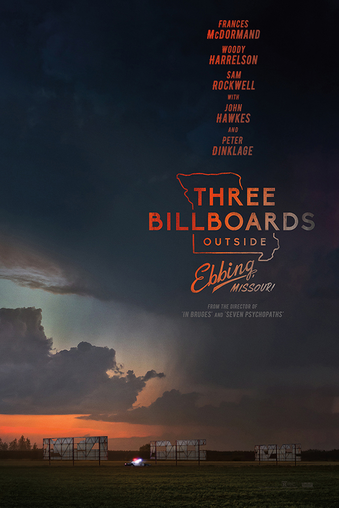 Poster for Three Billboards Outside Ebbing, Missouri