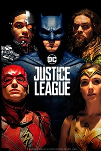 Justice League in 3D Poster