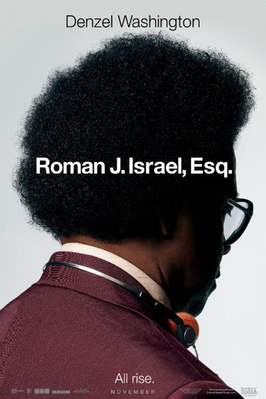 Poster for Roman J. Israel, Esq.