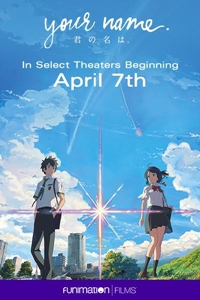 Poster of Your Name. (Kimi no na wa.) (Dubbed)