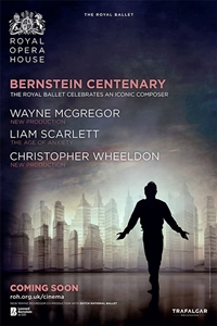 The Royal Ballet: Bernstein Centenary Poster