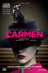 Poster for The Royal Opera House: Carmen