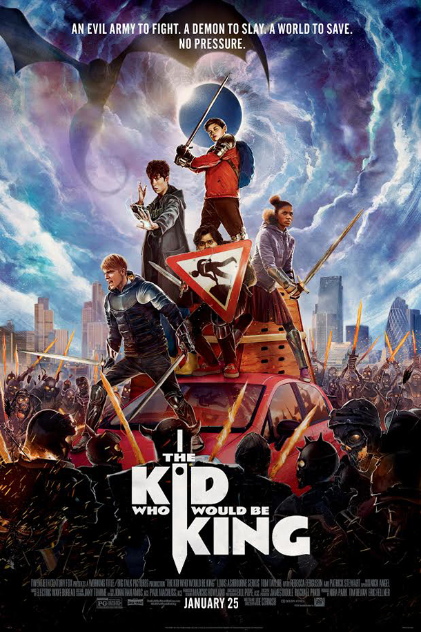 Poster for Kid Who Would Be King, The