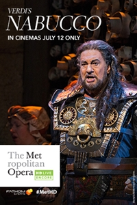 Poster of Nabucco Met Summer Encore