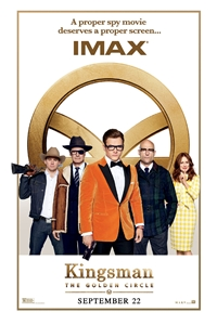Poster for Kingsman: The Golden Circle The IMAX 2D Experience