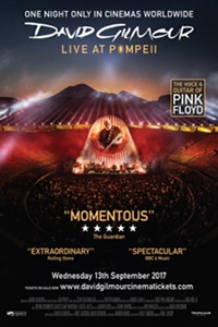 David Gilmour: Live At Pompeii Poster