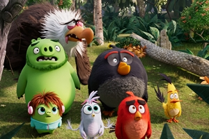 The Angry Birds Movie 2 cast photo