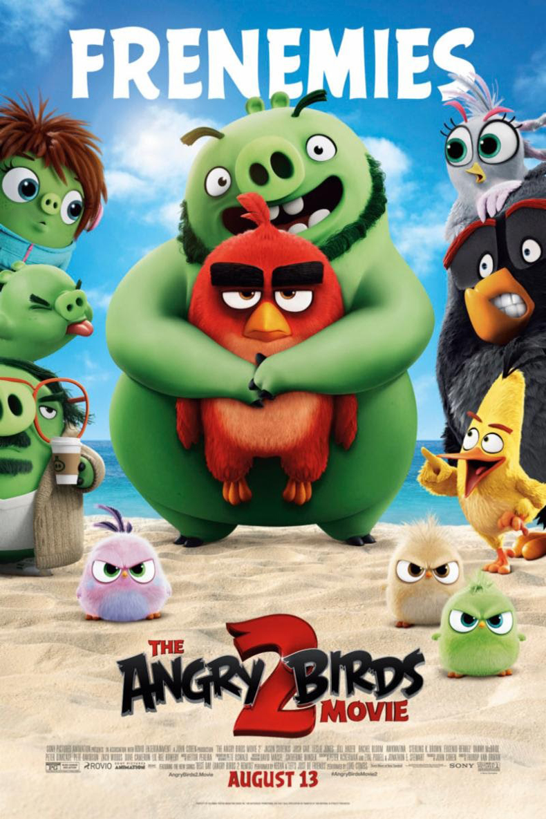 Poster for Angry Birds Movie 2, The