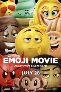 Poster of The Emoji Movie 3D