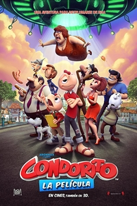 Poster for Condorito: The Movie (Condorito: La película)