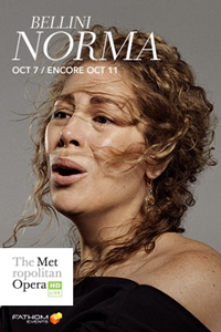 Poster for The Metropolitan Opera: Norma ENCORE