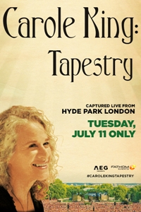 Poster of Carole King: Tapestry - Captured Live