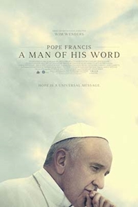 Poster of Pope Francis - A Man Of His Word