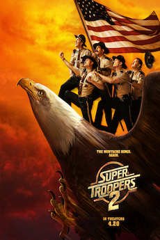 Poster for Super Troopers 2
