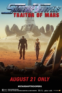 Poster of Starship Troopers: Traitor of Mars