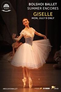 Bolshoi Ballet: Giselle ENCORE Poster