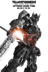 Transformers: The Last Knight Optimus Prime Time 3D
