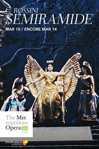 Poster for The Metropolitan Opera: Semiramide ENCORE