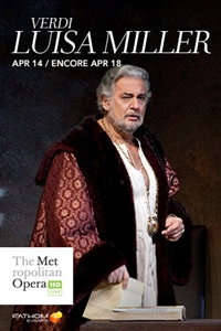 Poster for The Metropolitan Opera: Luisa Miller ENCORE
