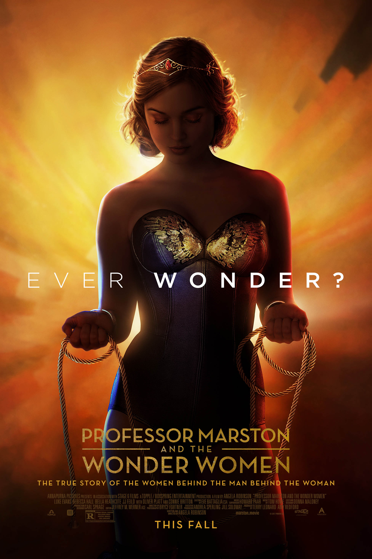 Poster for Professor Marston & the Wonder Women