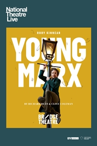 Poster for National Theatre Live: Young Marx