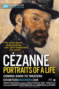 Poster of Exhibition on Screen: Cézanne: Portraits of a Life