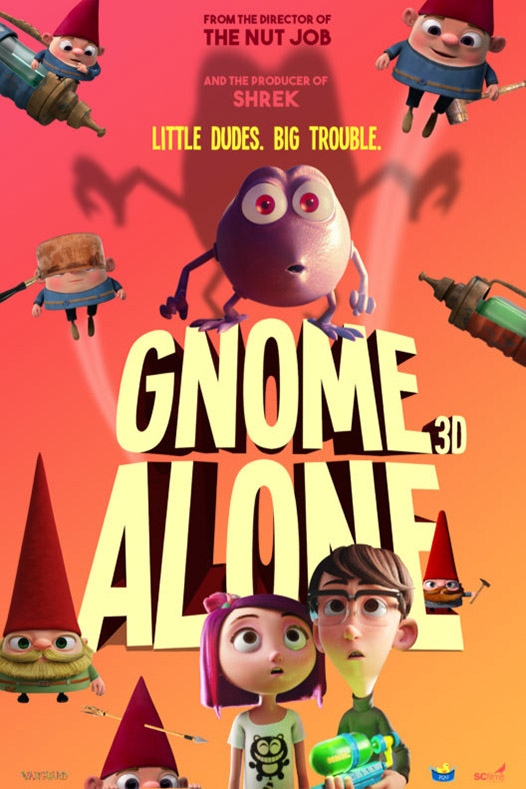 Poster for Gnome Alone