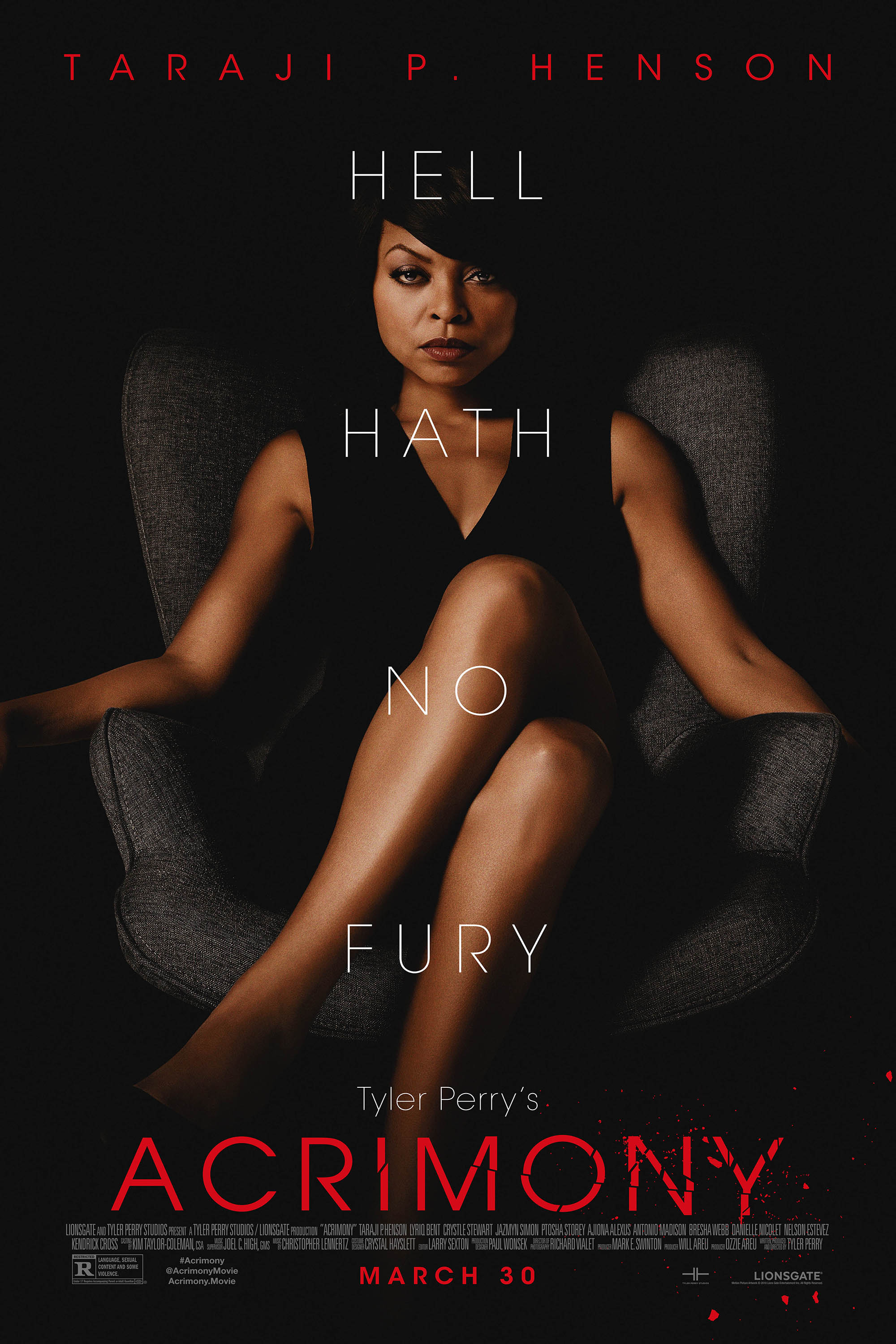 Poster for Tyler Perry's Acrimony
