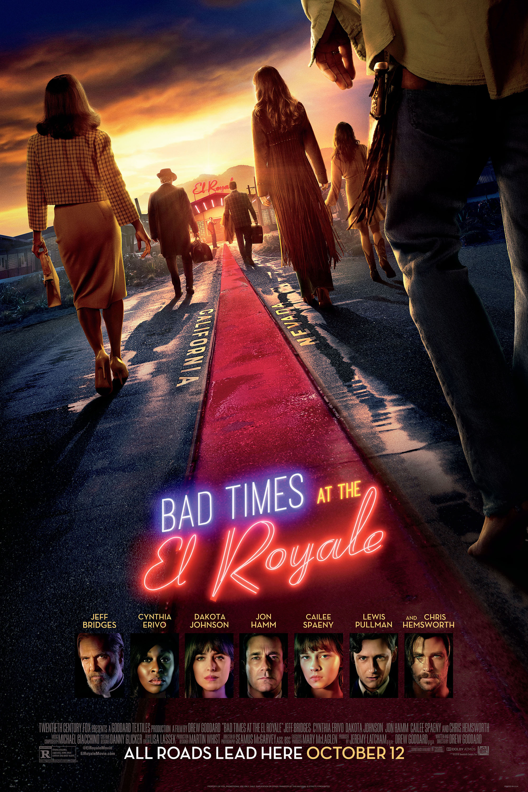 Poster for Bad Times at the El Royale