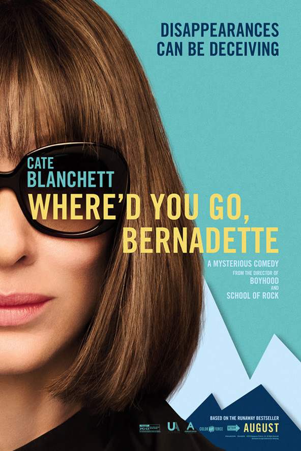 Poster for Where'd You Go, Bernadette