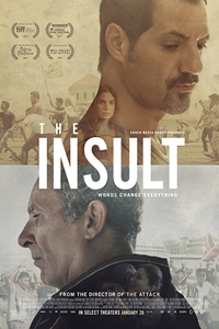Poster for The Insult (L'Insulte)