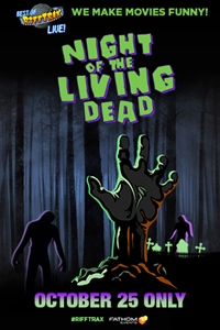 RiffTrax: Night of the Living Dead Poster