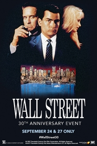 Poster of Wall Street 30th Anniversary