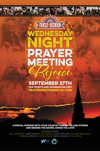 "Poster of Wednesday Night Prayer Meeting- ""Rejo..."