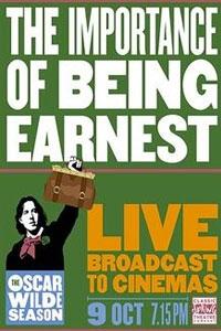 Oscar Wilde Season: The Importance of Being Earnes Poster