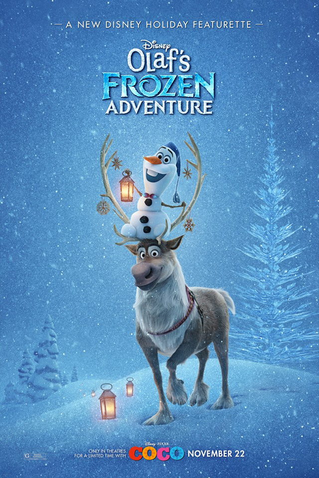 Poster for Olaf's Frozen Adventure