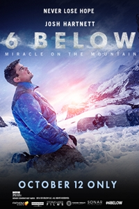 Poster of Fathom Premieres 6 Below: Miracle on the Mountain