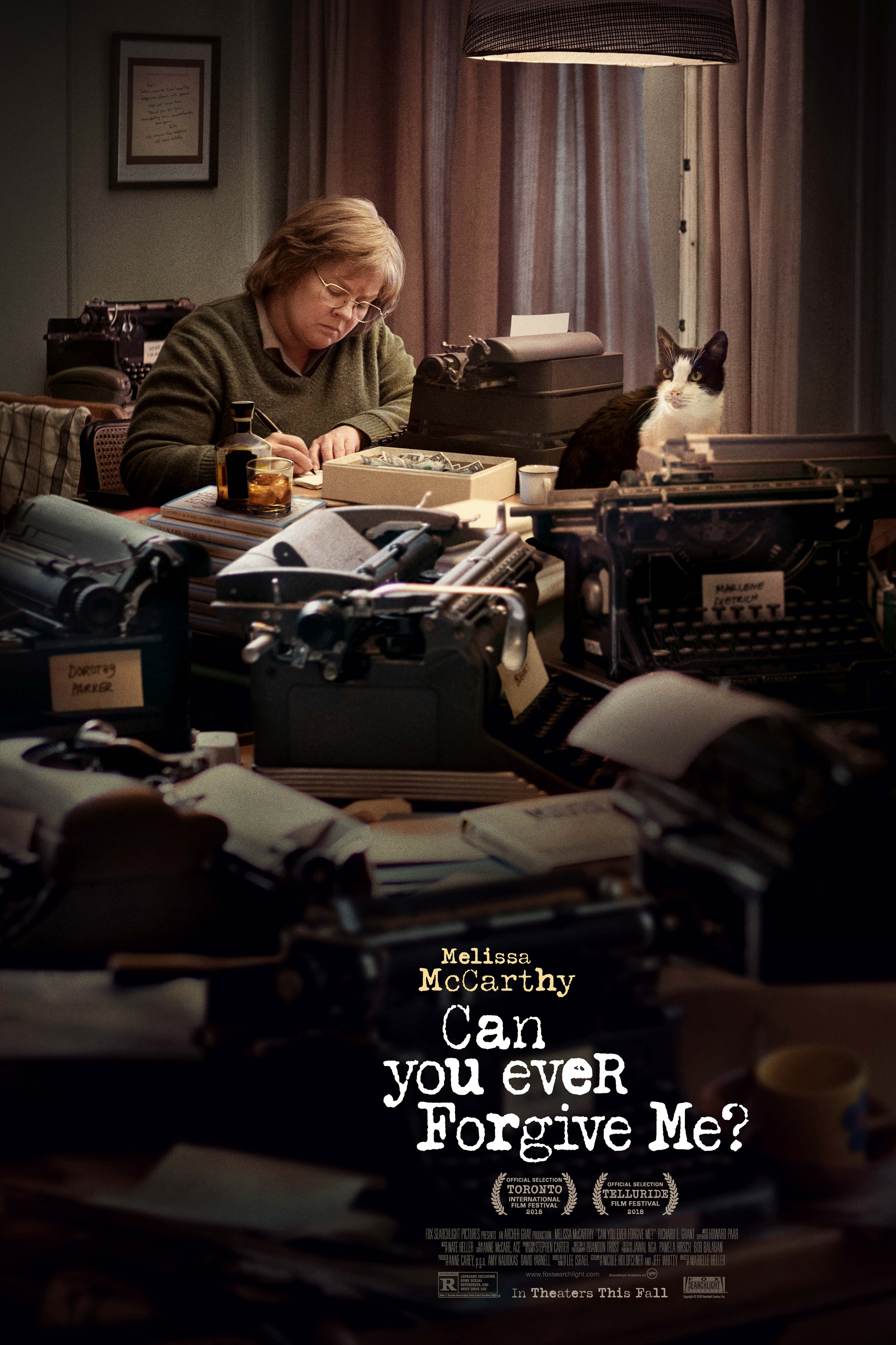Poster for Can You Ever Forgive Me?
