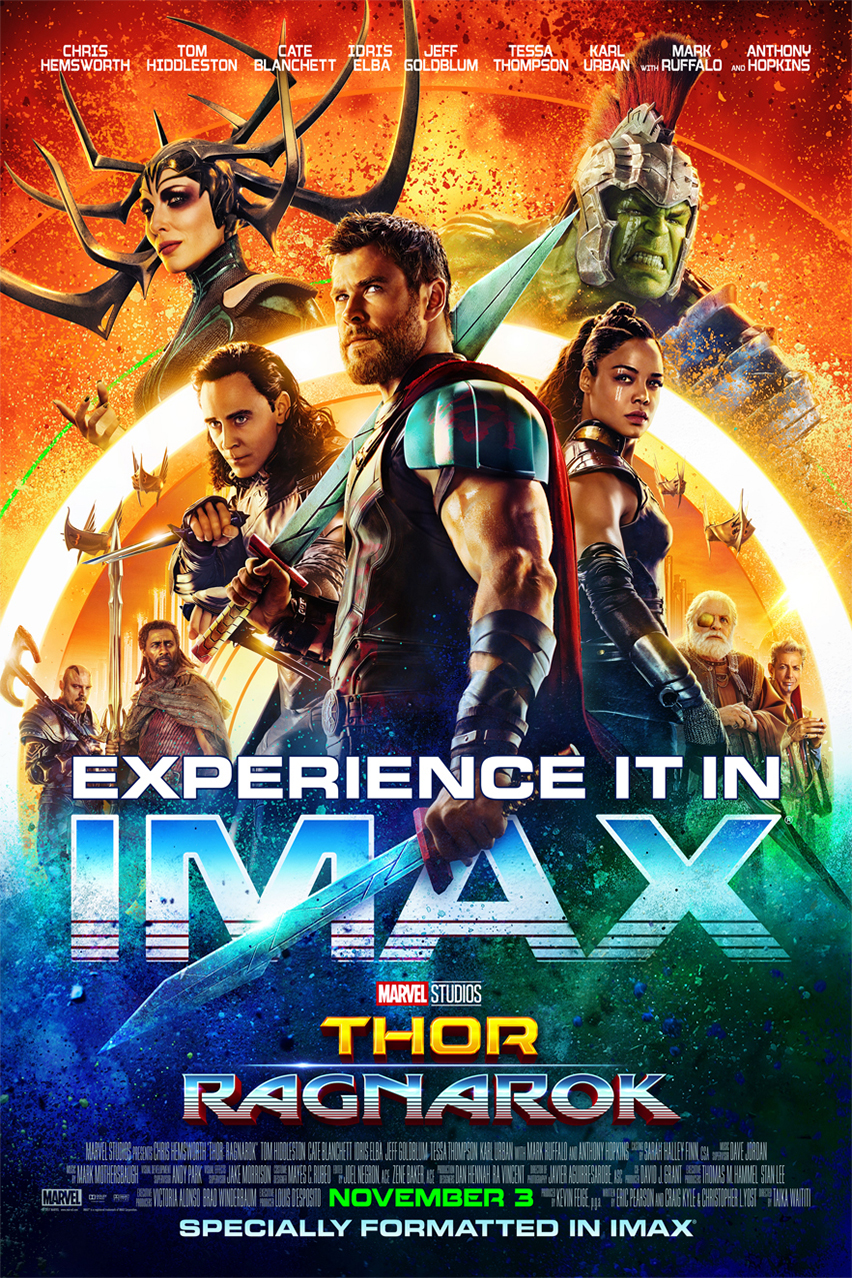 Poster for Thor: Ragnarok The IMAX 2D Experience