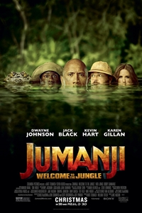 Poster for Jumanji: Welcome to the Jungle 3D