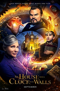 Poster for The House With A Clock In Its Walls