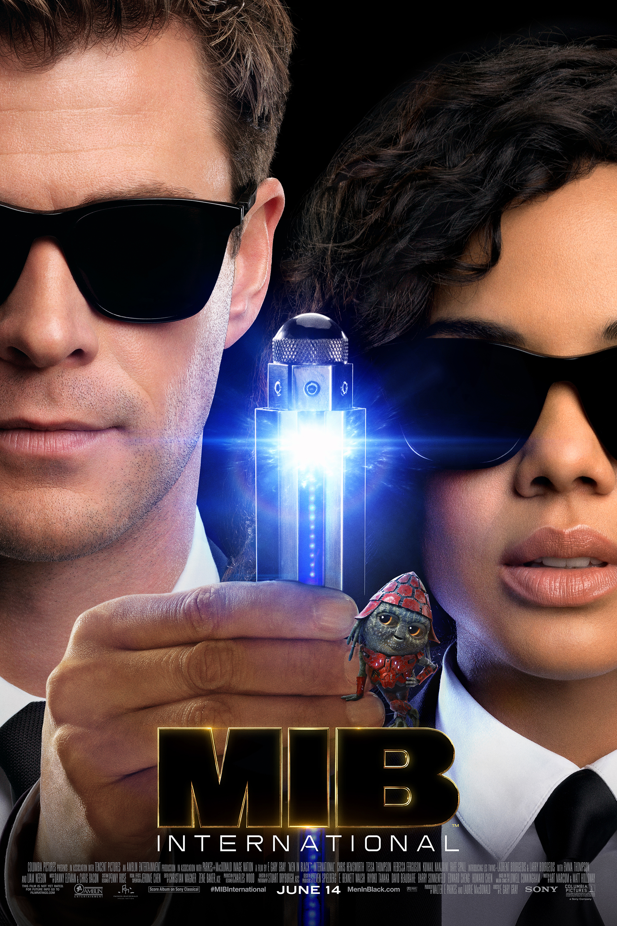 Poster for Men In Black: International
