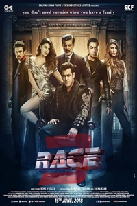 Poster of Race 3