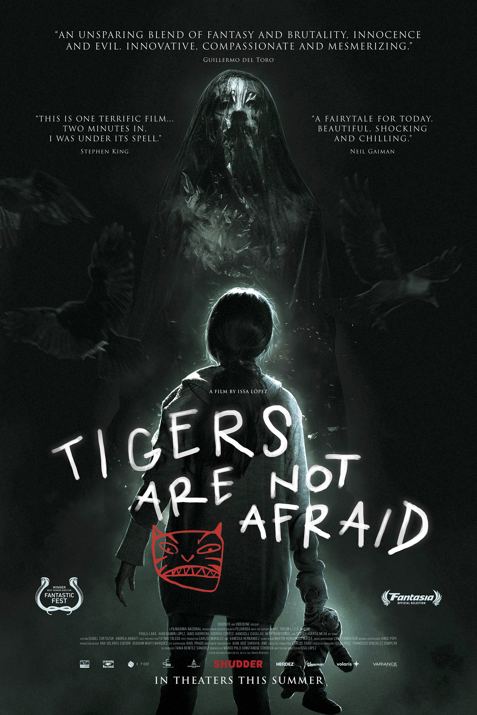 Poster of Tigers Are Not Afraid (Vuelven)