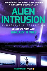 Poster of Alien Intrusion: Unmasking a Deception