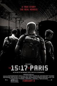 Caption Poster for The 15:17 to Paris